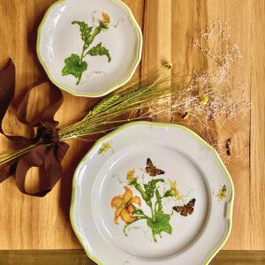 Supperland Squash Blossom Plate