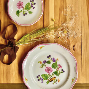 Gold Finch Dinner Plate and App Plate