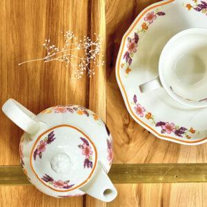 Supperland Peach Blossom Tea Set
